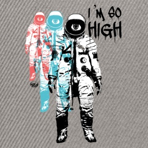 High Cosmonaut Flight Travel Trip - Snapback Cap