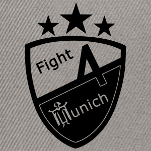 Fight 4 Munich - Logo - Casquette snapback