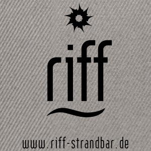 riff-Strandbar Emblem - Snapback Cap