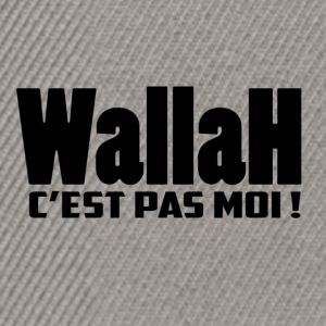 Wallah, IT'S NOT ME! - Snapback Cap