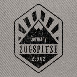 Zugspitze Germany - Used Look - Snapback Cap