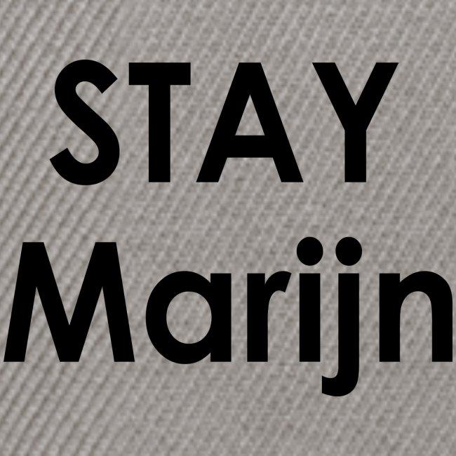 stay marijn black