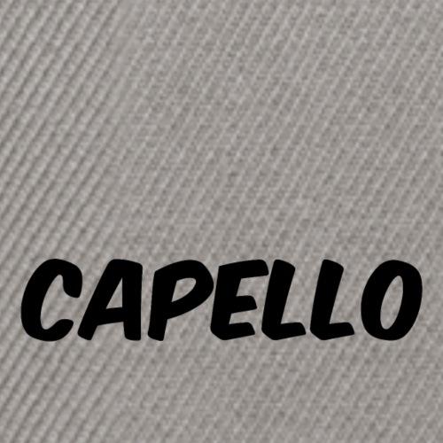 CAPELLO - Snapback Cap