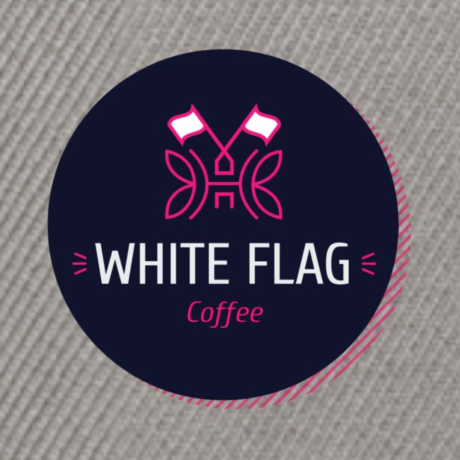 logo white flag coffee