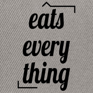 Eats everything - Snapback Cap