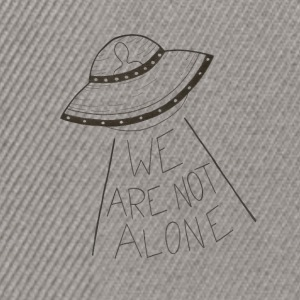 We are not alone - Casquette snapback