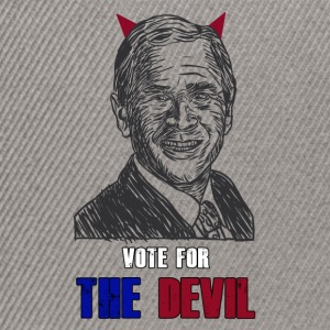 Vote the devil - Snapback Cap