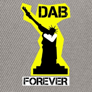 DAB FÜR IMMER STATUE YELLOW Liberty- - Snapback Cap