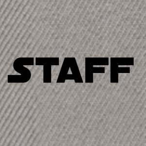 Sort Staff - Snapback Cap