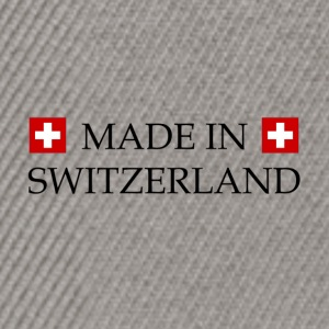 Made_in_Switzerland - Casquette snapback