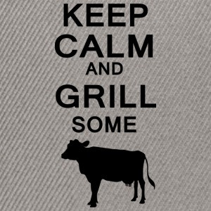 Keep Calm and grill noen kyr - Snapback-caps