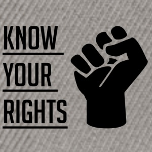 Know Your Rights - Snapbackkeps