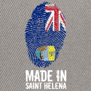 Made In Saint Helena / St. Helena - Snapback Cap