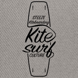 Premium Steeze Kiteboarding Kitesurf Culture Board - Snapback Cap