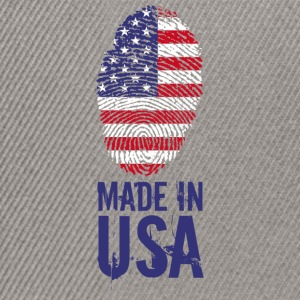 Made in USA / Made in USA Amérique - Casquette snapback