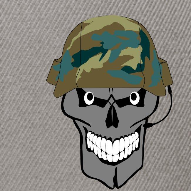 craneo militar