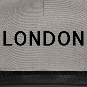 London - Snapbackkeps