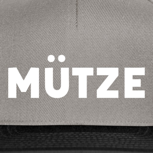 Muetze - Snapback Cap