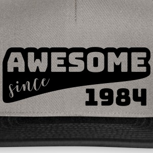 Awesome Sinds 1984 / Birthday-shirt - Snapback cap