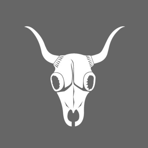 Bufa White Skull and White Typo