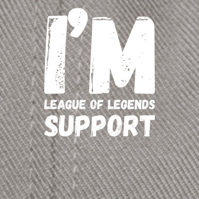 I'm support Main