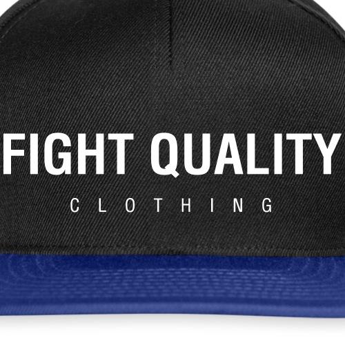 Fight Quality Clothing - Snapback Cap
