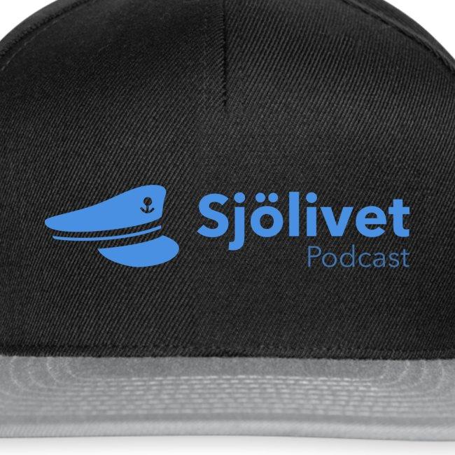 Sjölivet podcast - Svart logotyp