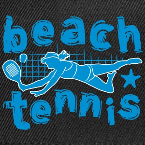 Beach tennis girl - Snapback Cap