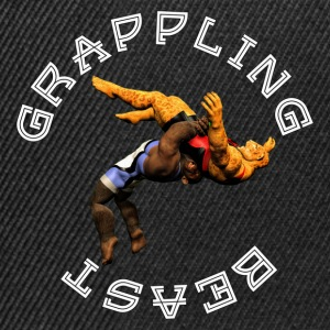 Grappling Beast (ape vs jaguar) - Snapback Cap