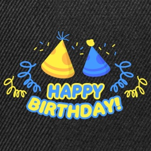Happy Birthday! - Snapback Cap