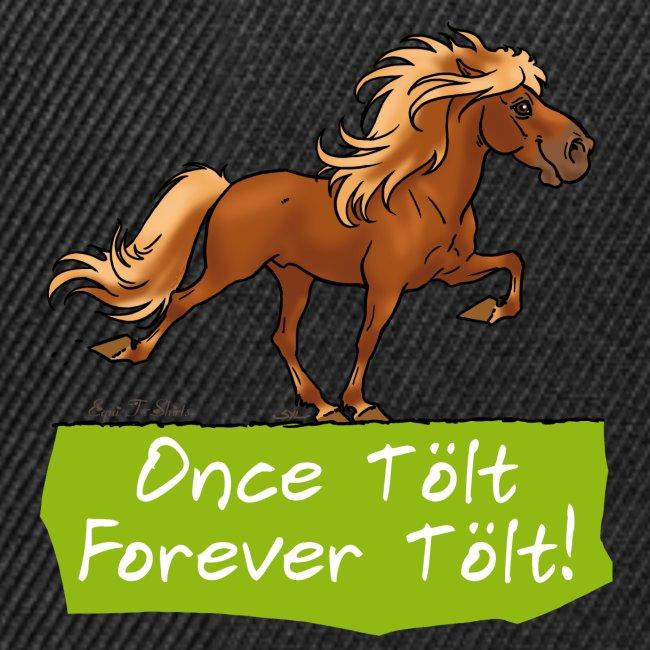 """Icelandic horse """"tölt"""""""