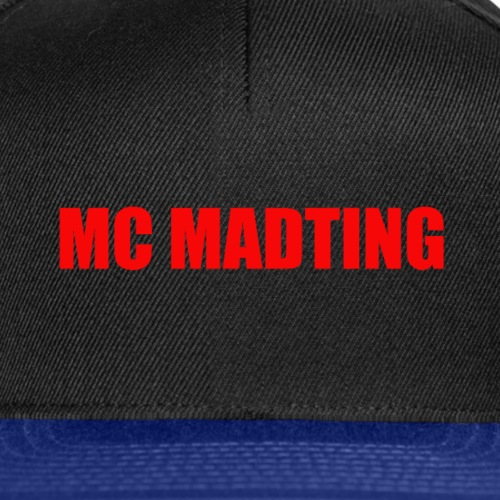 MCMADTING - Snapback Cap