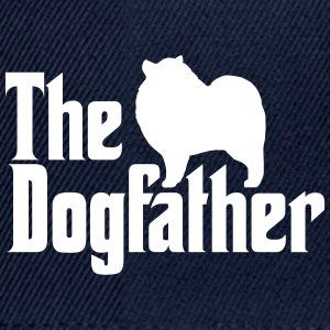 Keeshond Dogfather - Snapback Cap