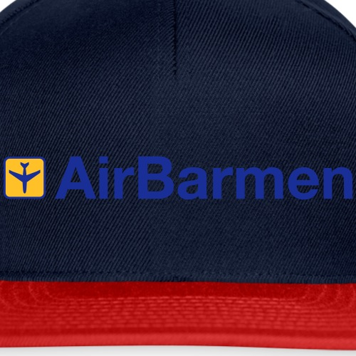 AirBarmen blau SVG - Snapback Cap