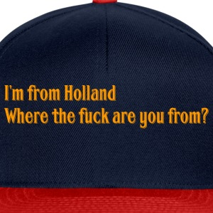 Holland - Snapback Cap