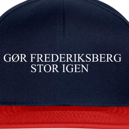 Gør Frederiksberg stor igen - Snapback Cap