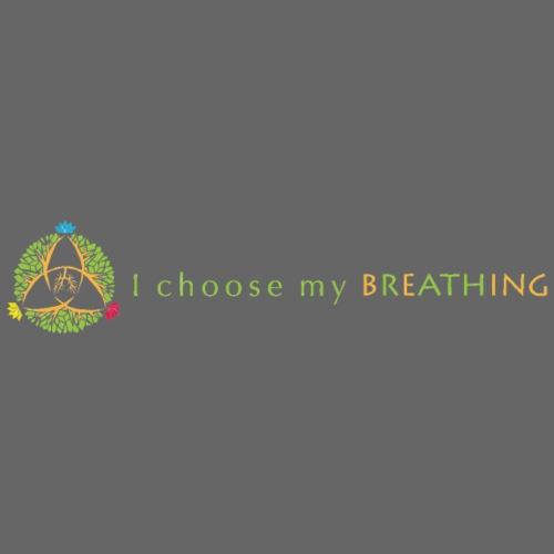 I choose my breathing V2 - Casquette snapback