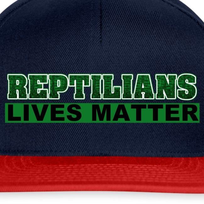 Reptilians lives matter