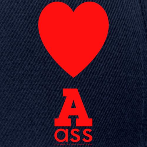 HERZ ASS - Snapback Cap