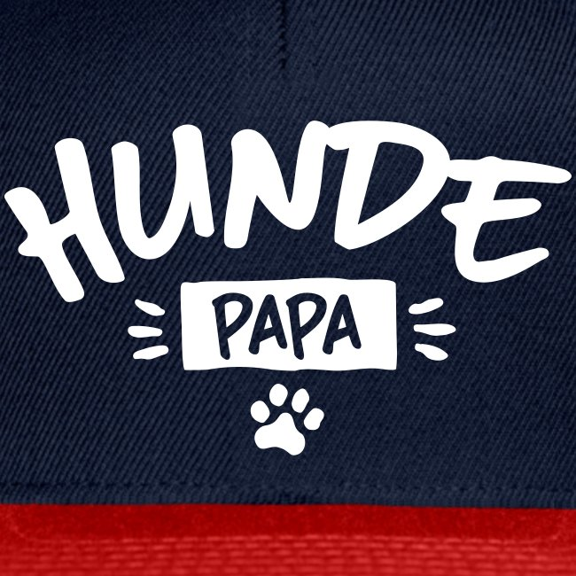 Vorschau: Hunde Papa - Snapback Cap