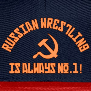 No.1 Wrestling russe - Casquette snapback