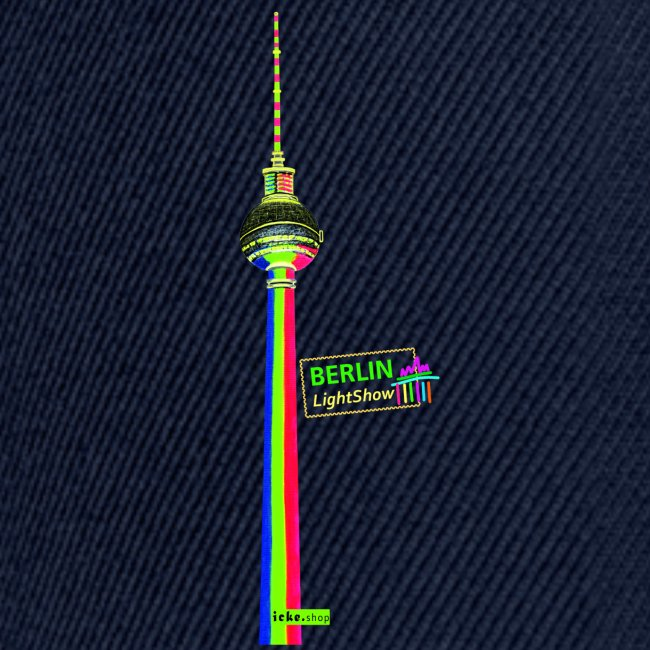 Fernsehturm PopArt BerlinLightShow