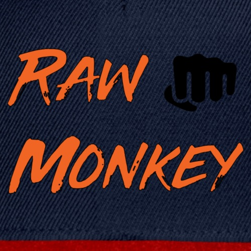 Raw Monkey Logo - Casquette snapback