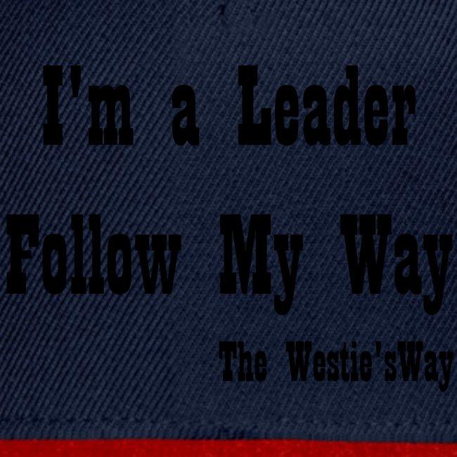 Follow My Way Black