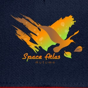Space Atlas Hoodie Autumn Leaves - Snapback Cap