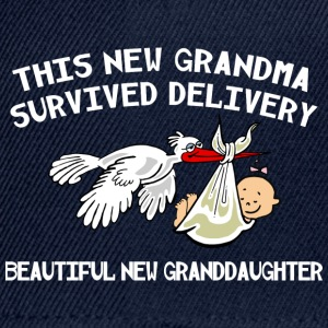 New Grandma Granddaughter - Snapback Cap