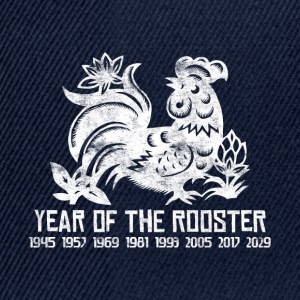 Years of the Chinese Rooster - Snapback Cap