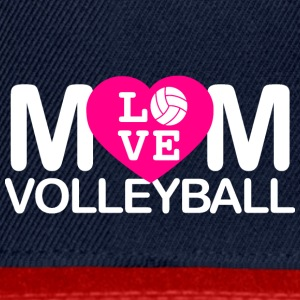 Mom love volleyball - Snapback Cap