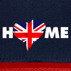 Home love England United Kingdom - Snapback Cap