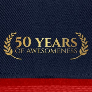 50th Anniversary: ​​50 Years of awesomeness - Snapback-caps